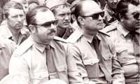 Генерал-майор И. Ф. Рябченко на концерте